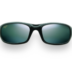 Maui Jim Grey Stingray Gloss Black Sunglasses