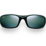 Maui Jim Grey Stingray Gloss Black Sunglasses