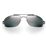 Maui Jim Grey Kahuna Gunmetal Black Sunglasses