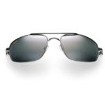 Maui Jim Grey Kahuna Gunmetal Black Sunglasses