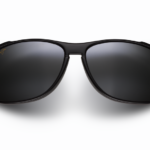 Maui Jim Grey Voyager Gloss Black Sunglasses