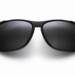 Maui Jim Grey Voyager Gloss Black Sunglasses