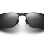 Maui Jim Castaway Black Matte/Grey Sunglasses