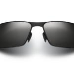 Maui Jim Castaway Black Matte/Grey Sunglasses