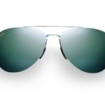 Maui Jim Grey Pilot Silver Sunglasses
