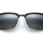 Maui Jim Grey Kawika Black Gloss Pewter